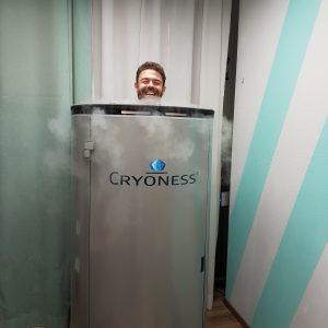 cryosauna, cryoness, cryosauna icetube centers